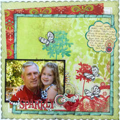 Sparkly Smiles *My Creative Scrapbook*