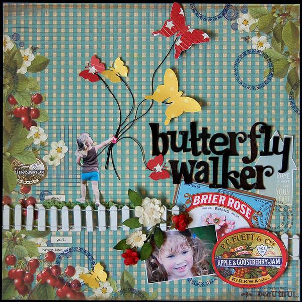 Butterfly Walker *A Million Memories June Kit*