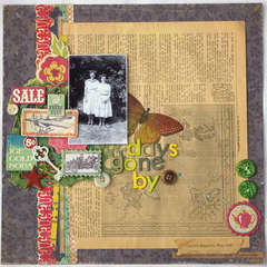 Days Gone By **Crate Paper**