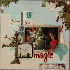 Christmas Magic *Webster's Pages*