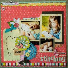 Stitching *Crate Paper*