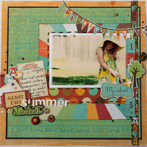 Summer Student *Crate Paper*