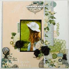 Vintage Girl *New Webster's Pages*