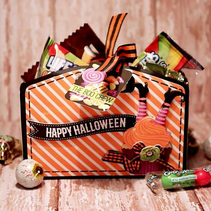 Happy Halloween treat box