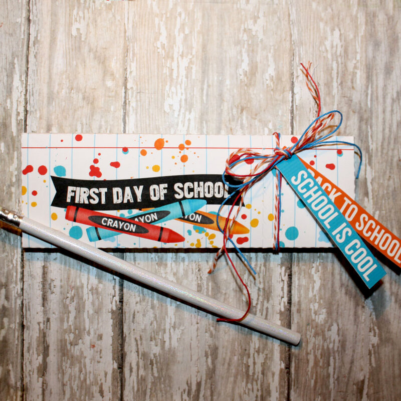 Back To School pencil box