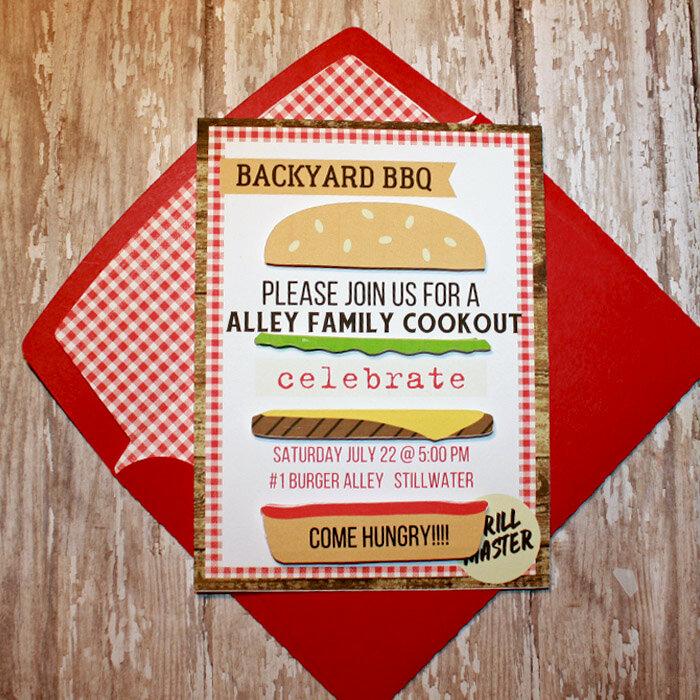 Cookout invite