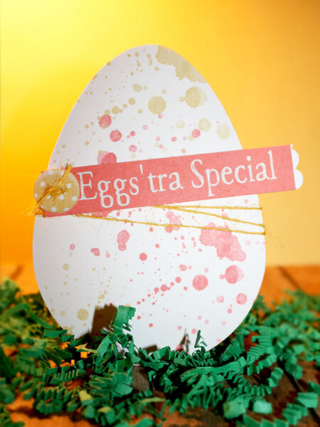 Eggs'stra Special Easter Card