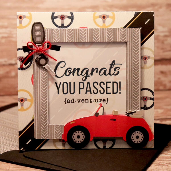 Congrats, You Passed card