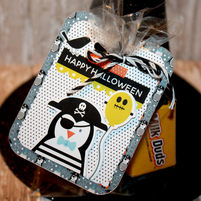 Halloween Candy treat tag