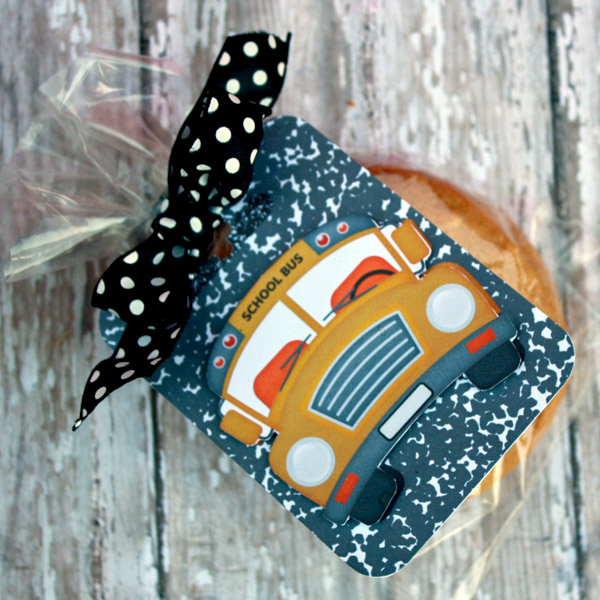Digital Back to School tag/Gift for Bus Driver