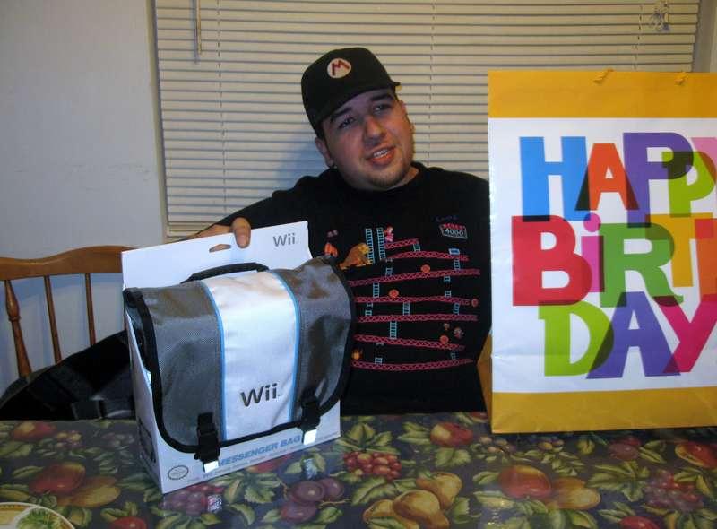 Mario's 26 Birthday