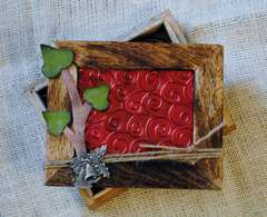Christmas Ivy Trinket Box {Basically Bare}