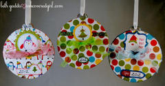 Basically Bare Christmas Wishlist Ornaments