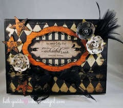Halloween Treat Box Top {Basically Bare}