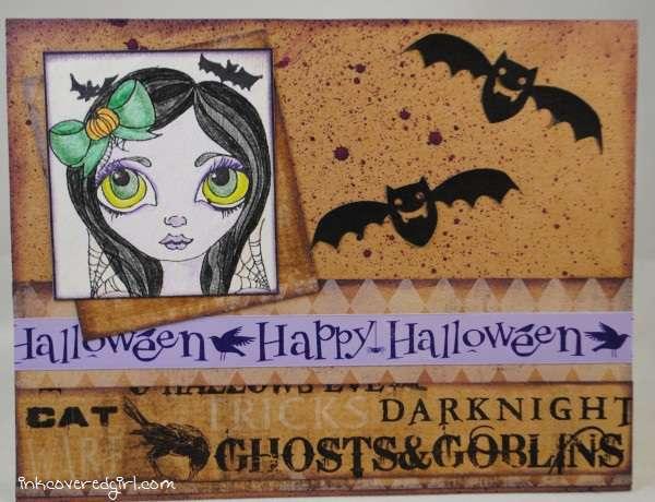 Halloween Fairy card