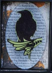 Halloween ATC - Raven