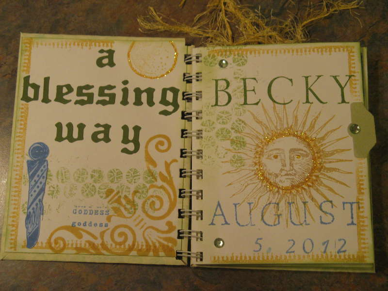 blessing way inside covers