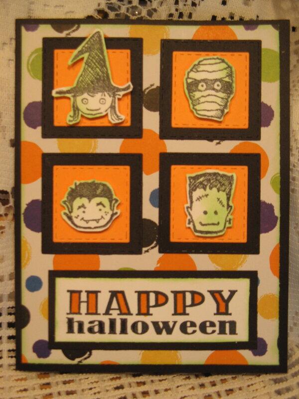Halloween scraps