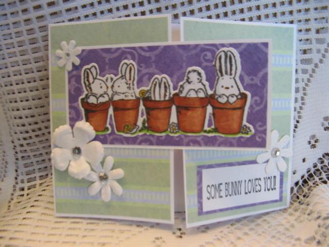 Gatefold bunnies