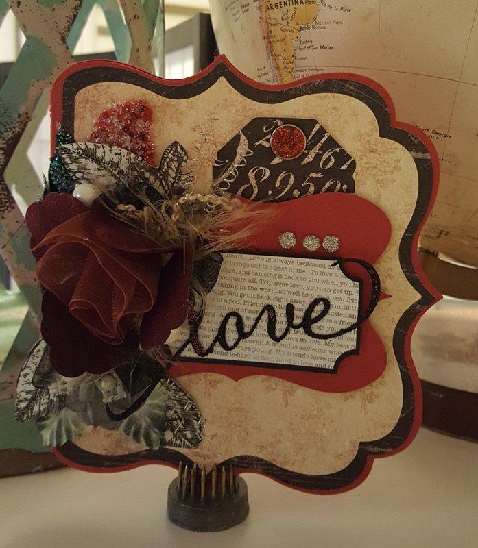 Love - an Anniversary card