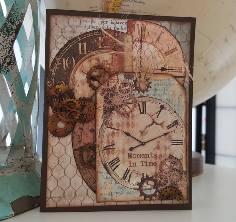 Moments In Time - a Birthday card