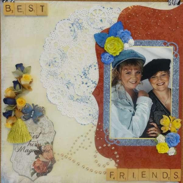 BEST FRIENDS - September SWIRLYDOOS RR Challenge