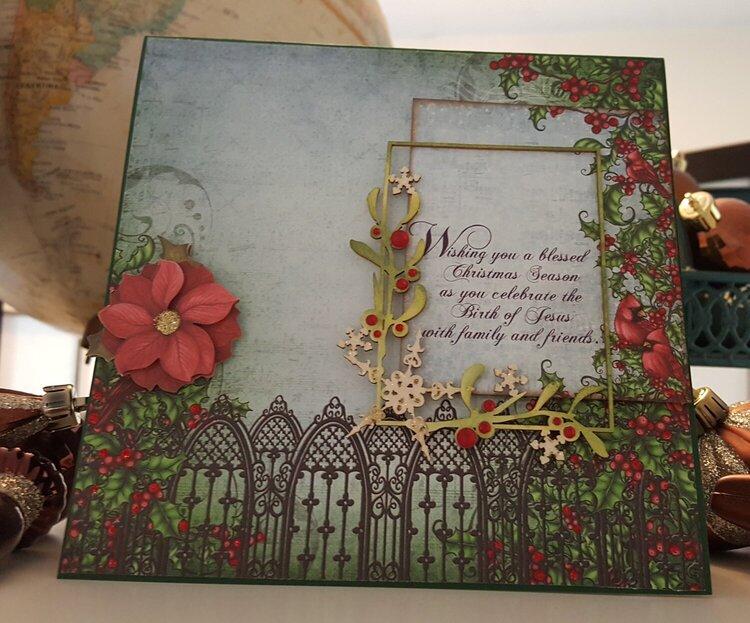 Faith based Christmas card