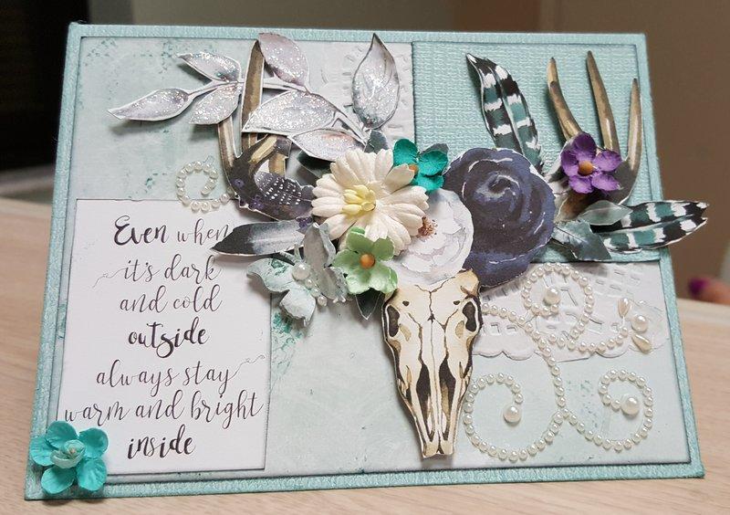 Tres Jolie Scrapbook Kit Club Card1
