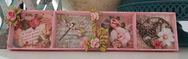 Shadow Box Swap for Renea's Bouquets October 2019