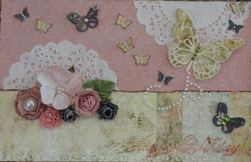 Happy Birthday - SWIRLYDOOS July Paper Dolls