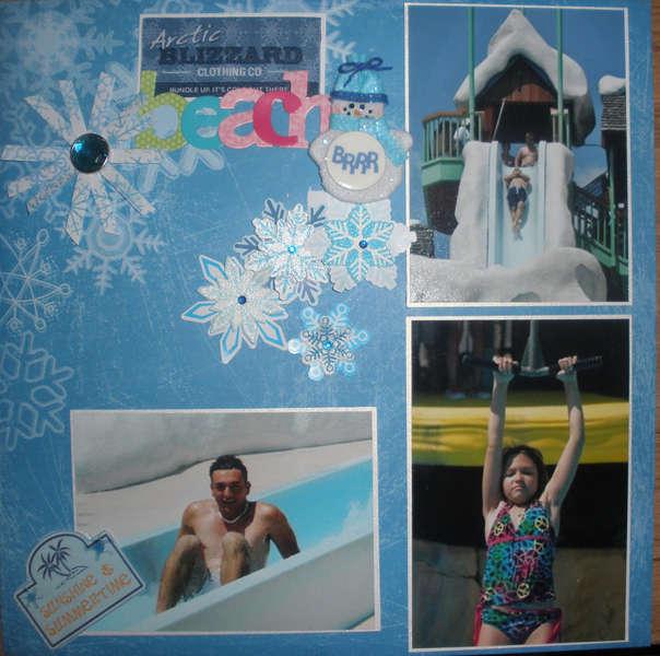 Orlando Vacation Album - Blizzard Beach Pg1
