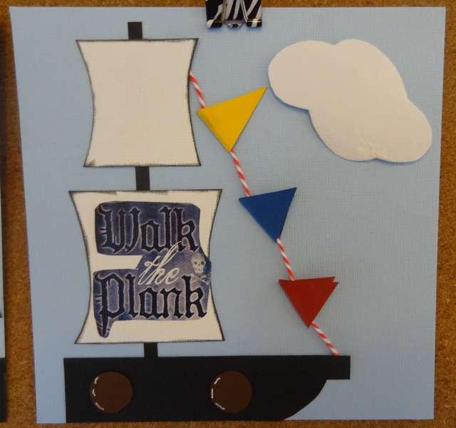 2012 Scrapbook Treasure Hunt - Scraps of Art Pg 2
