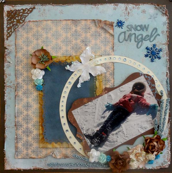 Snow Angel - Swirlydoos January, 2012 Kit