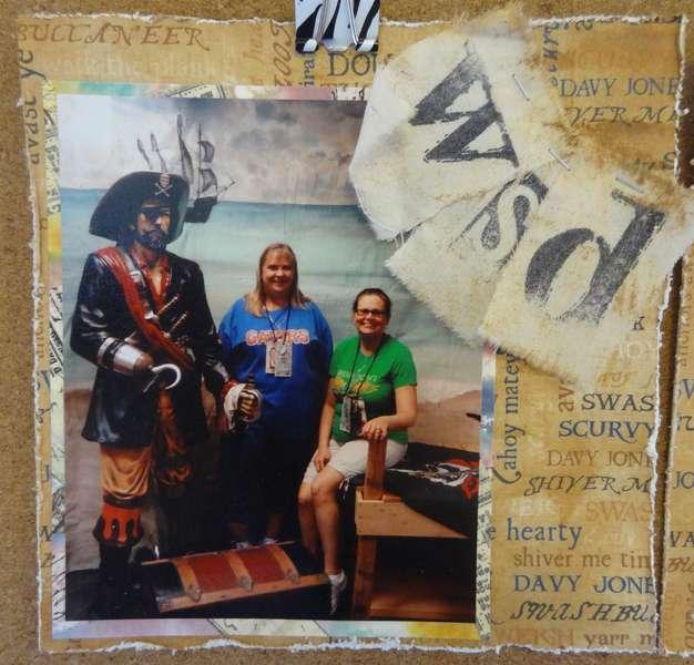2012 Scrapbook Treasure Hunt - WhimSoDoodle Pg 1
