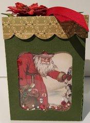 Santa gift box