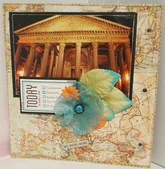 Rome Mini Album - Page Fourteen