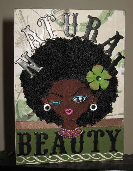 NATURAL BEAUTY-CARD