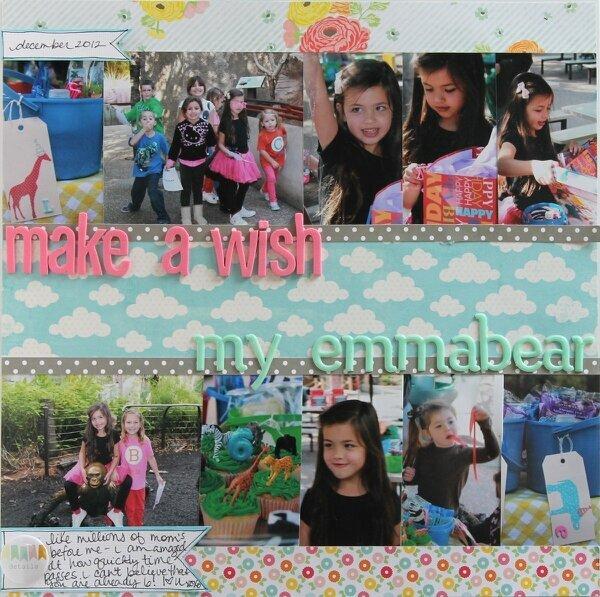 CHA sketch challenge, Make a Wish