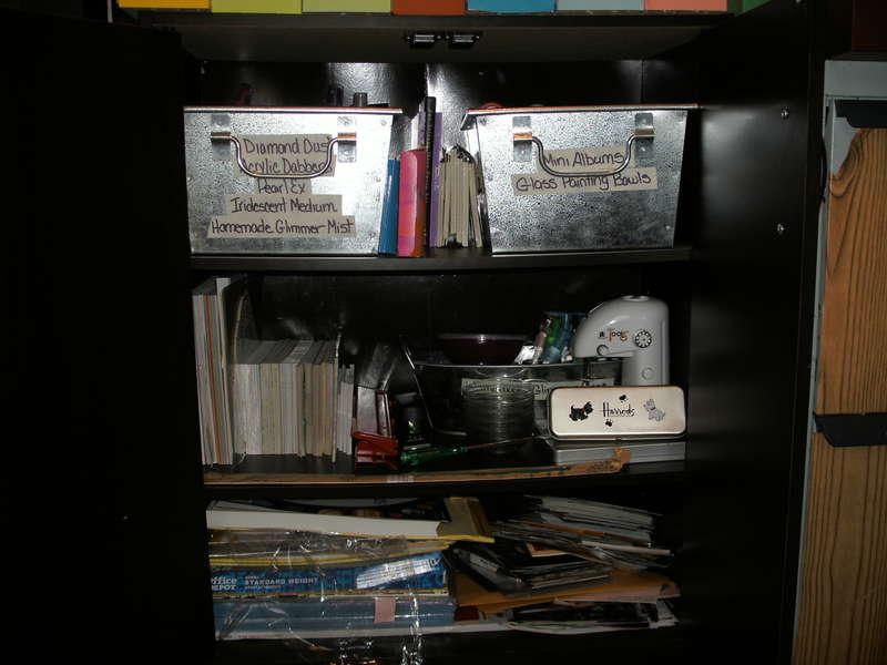 Inside one of my storage units