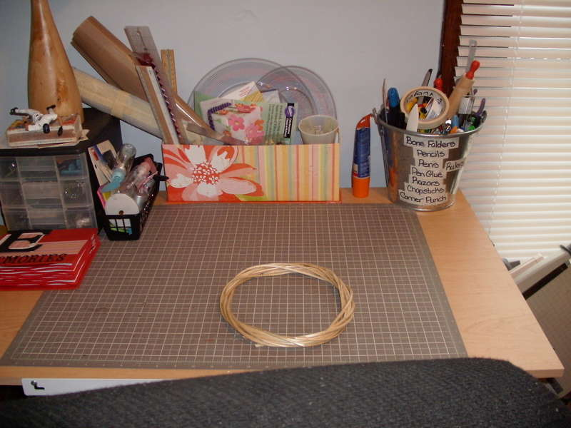 another angle of my craft table