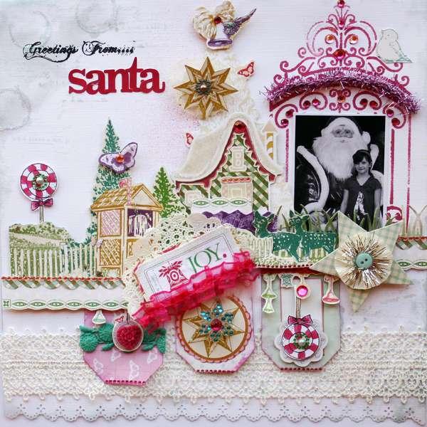 Greetings from Santa