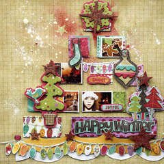 Happy Winter *Crate Paper*