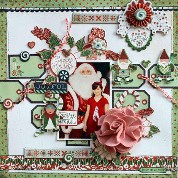 "Joyful Christmas ""Basic Grey"""