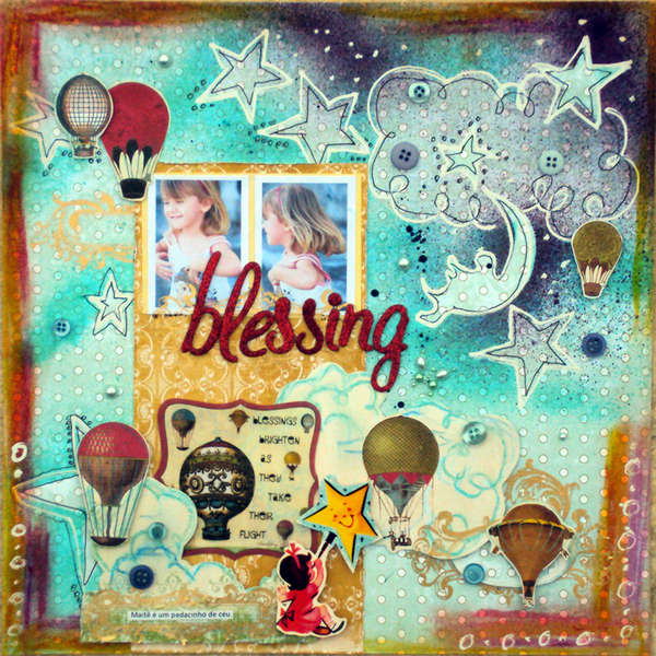 Blessing *A Million Memories January kit*
