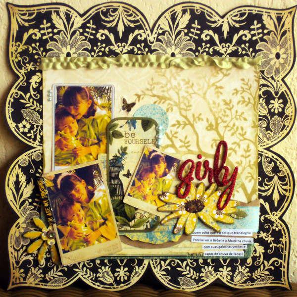 Girly *A Million Memories january kit*