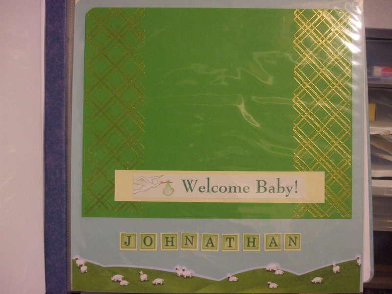 Baby/Pregnancy Album Gift