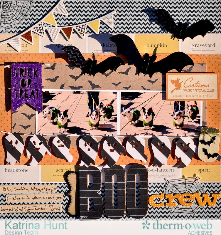 Boo Crew-Therm O Web