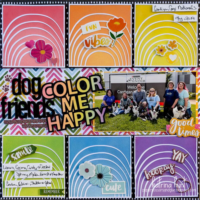 Dog Friends Color Me Happy