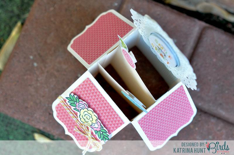 Total Fave Box Card by Katrina Hunt