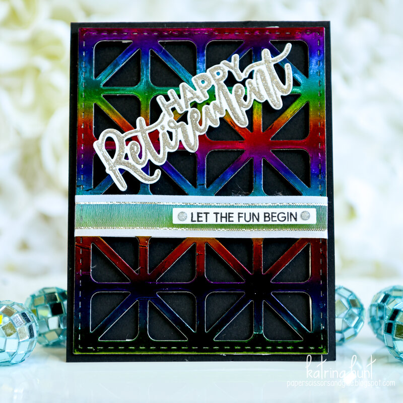 Rainbow Happy Retirement Cards